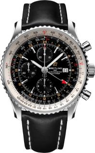 Breitling Navitimer Chronograph GMT 46 A24322121B2X1