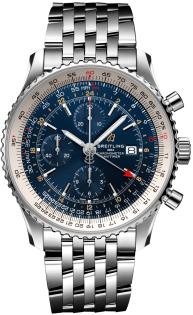 Breitling Navitimer Chronograph GMT 46 A24322121C2A1