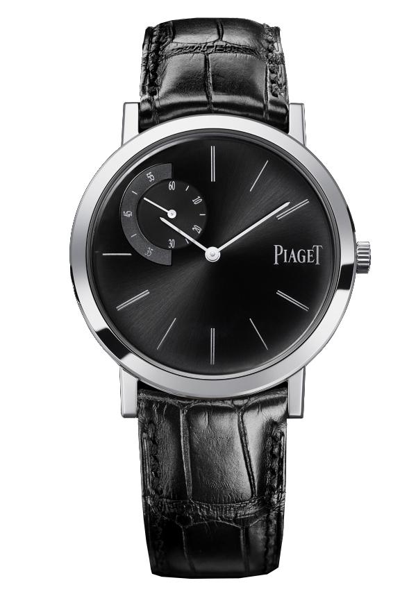 Piaget Altiplano G0A34114Наручные часы<br>Швейцарские часы Piaget Altiplano G0A34114Данная модель входит в коллекцию Altiplano. Это настоящие мужские часы. Материал корпуса часов &amp;mdash; золото. Стекло - сапфировое. Водозащита этих часов 30 м. Цвет циферблата - черный. Диаметр корпуса 40мм.<br><br>Пол: Мужские<br>Страна-производитель: Швейцария<br>Механизм: Механический<br>Материал корпуса: Золото<br>Материал ремня/браслета: Кожа<br>Водозащита, диапазон: 20 - 100 м<br>Стекло: Сапфировое<br>Толщина корпуса: None<br>Стиль: Классика