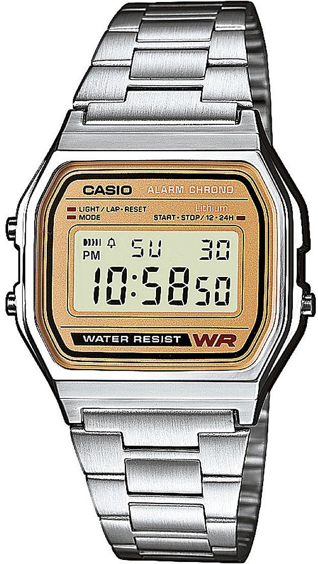 Японские часы Casio A-158WEA-9E  - купить со скидкой
