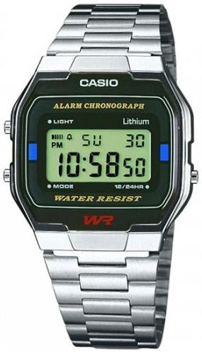 Японские часы Casio A-164WA-1  - купить со скидкой