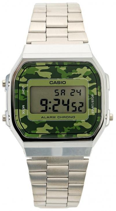 Японские часы Casio A-168WEC-3E  - купить со скидкой