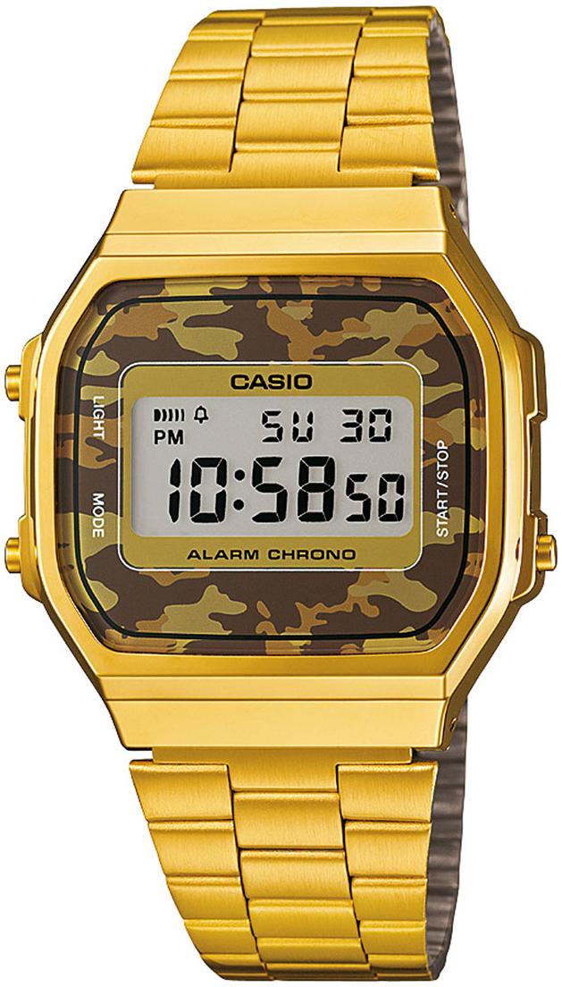 Купить Японские часы Casio A-168WEGC-5E