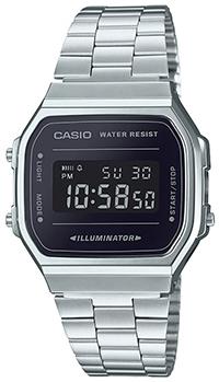 Купить Японские часы Casio Standard A-168WEM-1E
