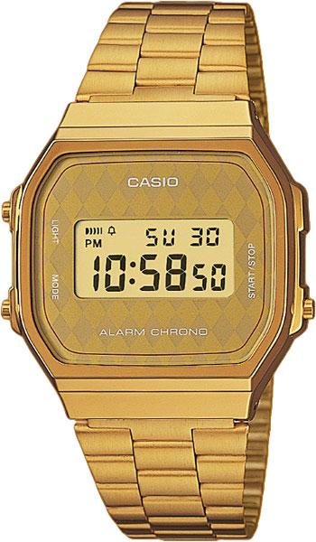 Купить Японские часы Casio A-168WG-9B