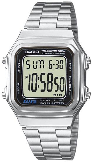 Японские часы Casio A-178WA-1  - купить со скидкой