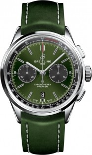 Breitling Premier B01 Chronograph 42 Bentley British Racing Green AB0118A11L1X1