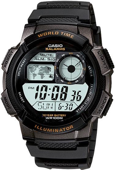Японские часы Casio AE-1000W-1A  - купить со скидкой