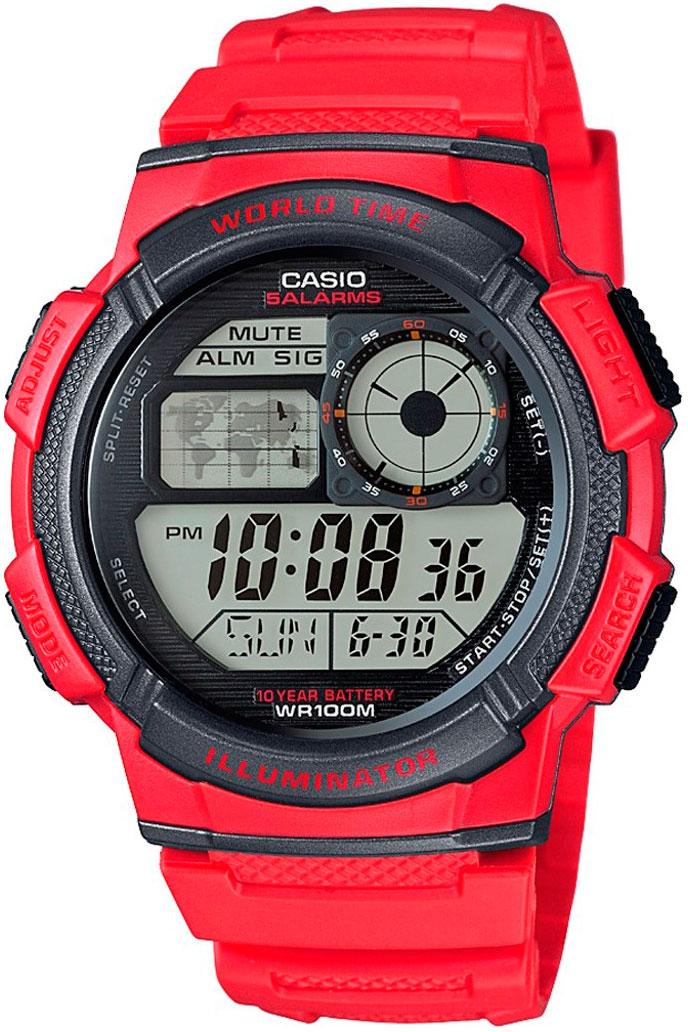 Японские часы Casio AE-1000W-4A  - купить со скидкой