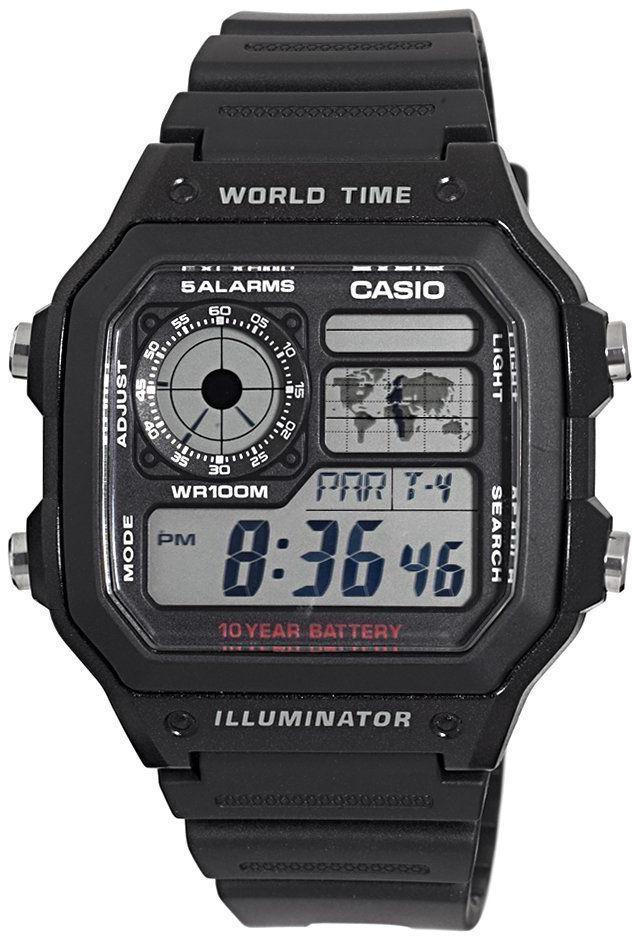 Купить Японские часы Casio AE-1200WH-1A