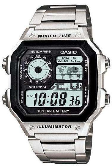 Купить Японские часы Casio AE-1200WHD-1A