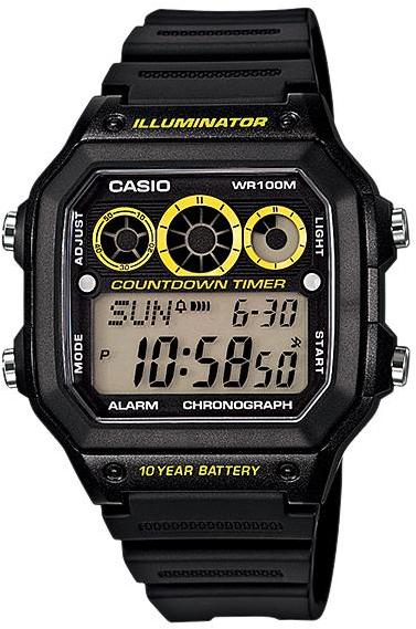 Купить Японские часы Casio AE-1300WH-1A
