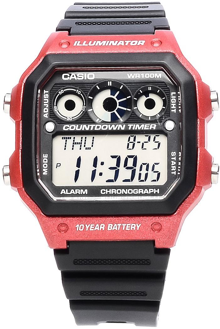 Купить Японские часы Casio AE-1300WH-4A