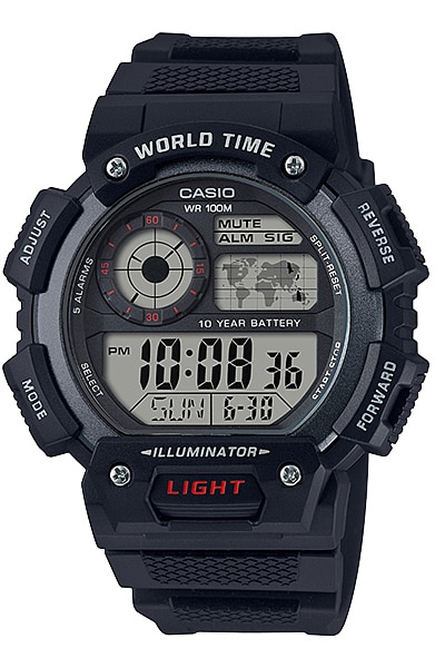Купить Японские часы Casio Standard AE-1400WH-1A