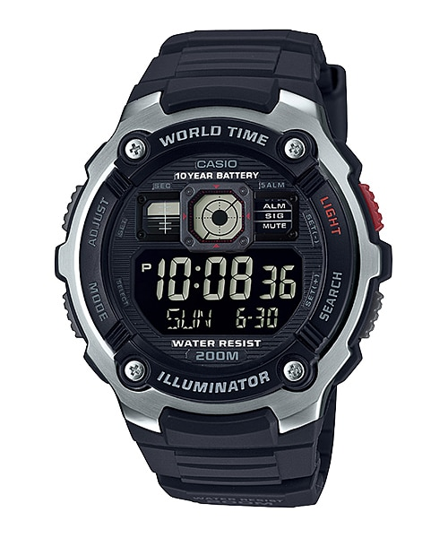 Купить Японские часы Casio Standard AE-2000W-1B