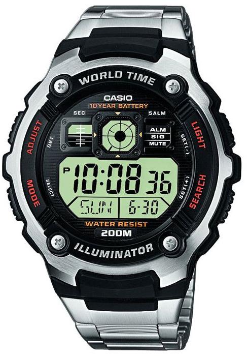 Купить Японские часы Casio AE-2000WD-1A