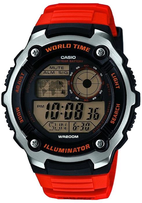 Купить Японские часы Casio AE-2100W-4A