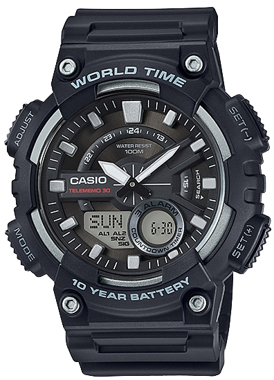 Купить Японские часы Casio AEQ-110W-1A