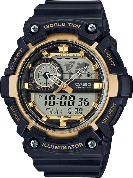 Купить Японские часы Casio AEQ-200W-9A