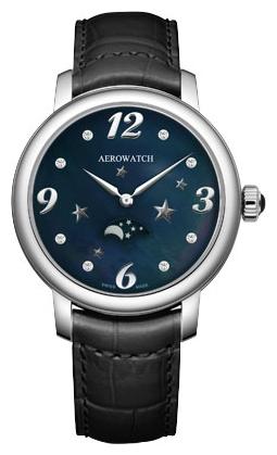 Aerowatch Renaissance  43938 AA10Наручные часы<br>Швейцарские часы Aerowatch Renaissance 43938 AA10Часы входят в модельный ряд коллекции Renaissance . Это великолепные Женские часы. Материал корпуса часов — Сталь. Ремень — Кожа. В этой модели стоит Сапфировое стекло. Водозащита этих часов 50 м.<br><br>Для кого?: Женские<br>Страна-производитель: Швейцария<br>Механизм: Кварцевый<br>Материал корпуса: Сталь<br>Материал ремня/браслета: Кожа<br>Водозащита, диапазон: 20 - 100 м<br>Стекло: Сапфировое<br>Толщина корпуса: None<br>Стиль: None