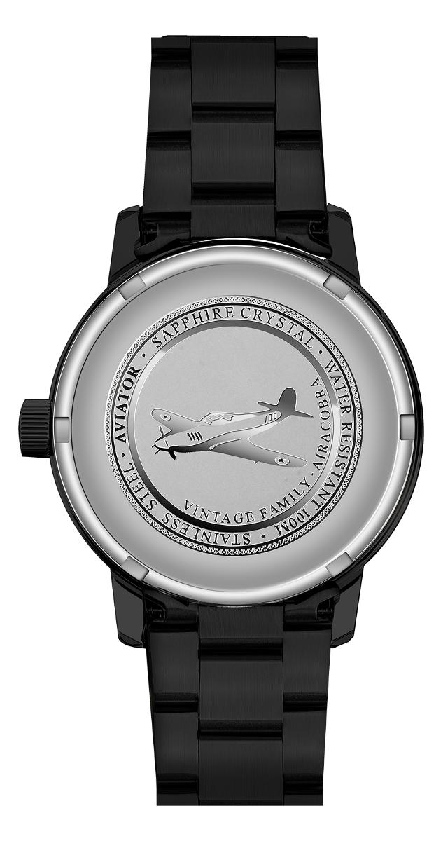 Aviator Professional Automatic V.1.11.5.038.5Наручные часы<br>Швейцарские часы Aviator Aircobra V.1.11.5.038.5Представленная модель входит в коллекцию Aircobra. Это Мужские часы. Материал корпуса часов — Сталь. Браслет — Сталь. В этой модели стоит Сапфировое стекло. Часы этой модели обладают водозащитой 100 м.<br><br>Пол: Мужские<br>Страна-производитель: Швейцария<br>Механизм: Кварцевый<br>Материал корпуса: Сталь<br>Материал ремня/браслета: Сталь<br>Водозащита, диапазон: 100 - 150 м<br>Стекло: Сапфировое<br>Толщина корпуса: None<br>Стиль: None