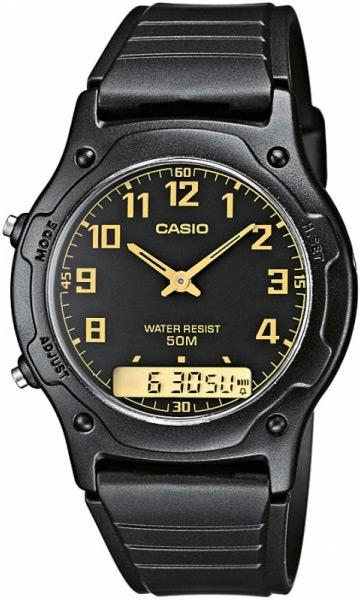 Купить Японские часы Casio AW-49H-1B