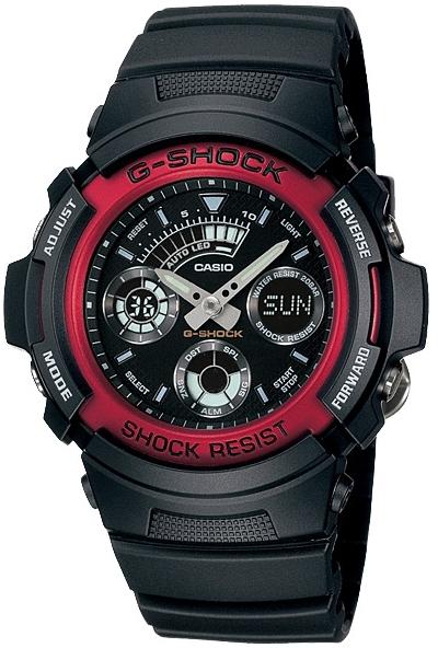 Casio G-shock G-Classic AW-591-4AНаручные часы<br>Японские часы Casio G-shock G-Classic AW-591-4A<br><br>Пол: Мужские<br>Страна-производитель: Япония<br>Механизм: Кварцевый<br>Материал корпуса: Сталь+пластик<br>Материал ремня/браслета: Пластик<br>Водозащита, диапазон: None<br>Стекло: Минеральное<br>Толщина корпуса: None<br>Стиль: None