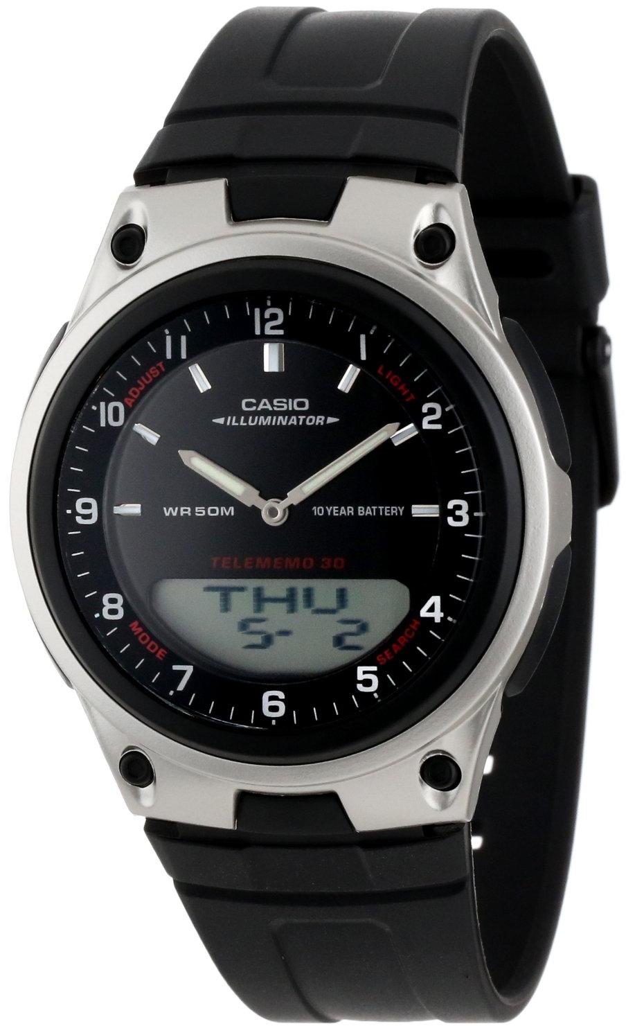 Купить Японские часы Casio AW-80-1A