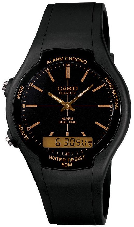 Купить Японские часы Casio AW-90H-9E
