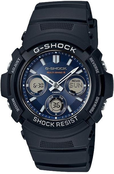 Casio G-shock G-Classic AWG-M100SB-2AНаручные часы<br>Японские часы Casio G-shock G-Classic AWG-M100SB-2A<br><br>Пол: Мужские<br>Страна-производитель: Япония<br>Механизм: Кварцевый<br>Материал корпуса: Пластик<br>Материал ремня/браслета: Пластик<br>Водозащита, диапазон: None<br>Стекло: Минеральное<br>Толщина корпуса: None<br>Стиль: None