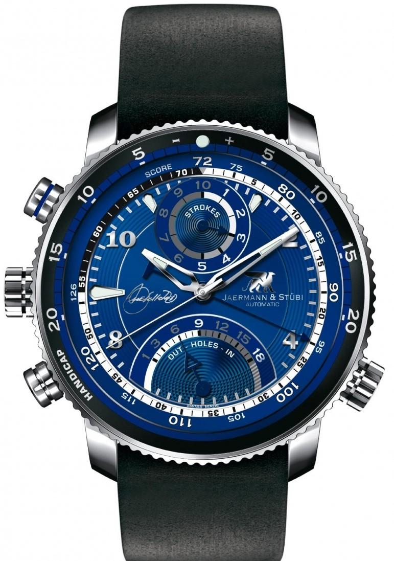 Jaermann &amp; Stubi Seve Ballesteros SB1Наручные часы<br>Швейцарские часы Jaermann &amp; Stubi Seve Ballesteros SB1Представленная модель входит в коллекцию Seve Ballesteros. Это великолепные мужские часы. Материал корпуса часов — сталь. В этих часах используется сапфировое стекло. Водозащита - 100 м. В данной модели используются следующие усложнения: . Часы обладают корпусом 44x44мм.<br><br>Пол: Мужские<br>Страна-производитель: Швейцария<br>Механизм: Механический<br>Материал корпуса: Сталь<br>Материал ремня/браслета: Каучук<br>Водозащита, диапазон: 100 - 150 м<br>Стекло: Сапфировое<br>Толщина корпуса: None<br>Стиль: Спорт
