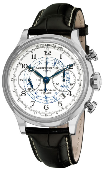 Baume&amp;Mercier Capeland MOA10006Наручные часы<br>Швейцарские часы Baume&amp;Mercier Capeland MOA10006Данная модель — яркий представитель коллекции Capeland. Это Мужские часы. Материал корпуса часов — Сталь. Ремень — Кожа. В этих часах используется Сапфировое стекло. Водозащита этой модели 50 м.<br><br>Для кого?: Мужские<br>Страна-производитель: Швейцария<br>Механизм: Механический<br>Материал корпуса: Сталь<br>Материал ремня/браслета: Кожа<br>Водозащита, диапазон: 20 - 100 м<br>Стекло: Сапфировое<br>Толщина корпуса: None<br>Стиль: None