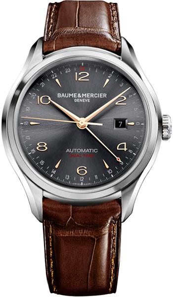 Купить со скидкой Baume&Mercier Clifton Dual Time MOA10111