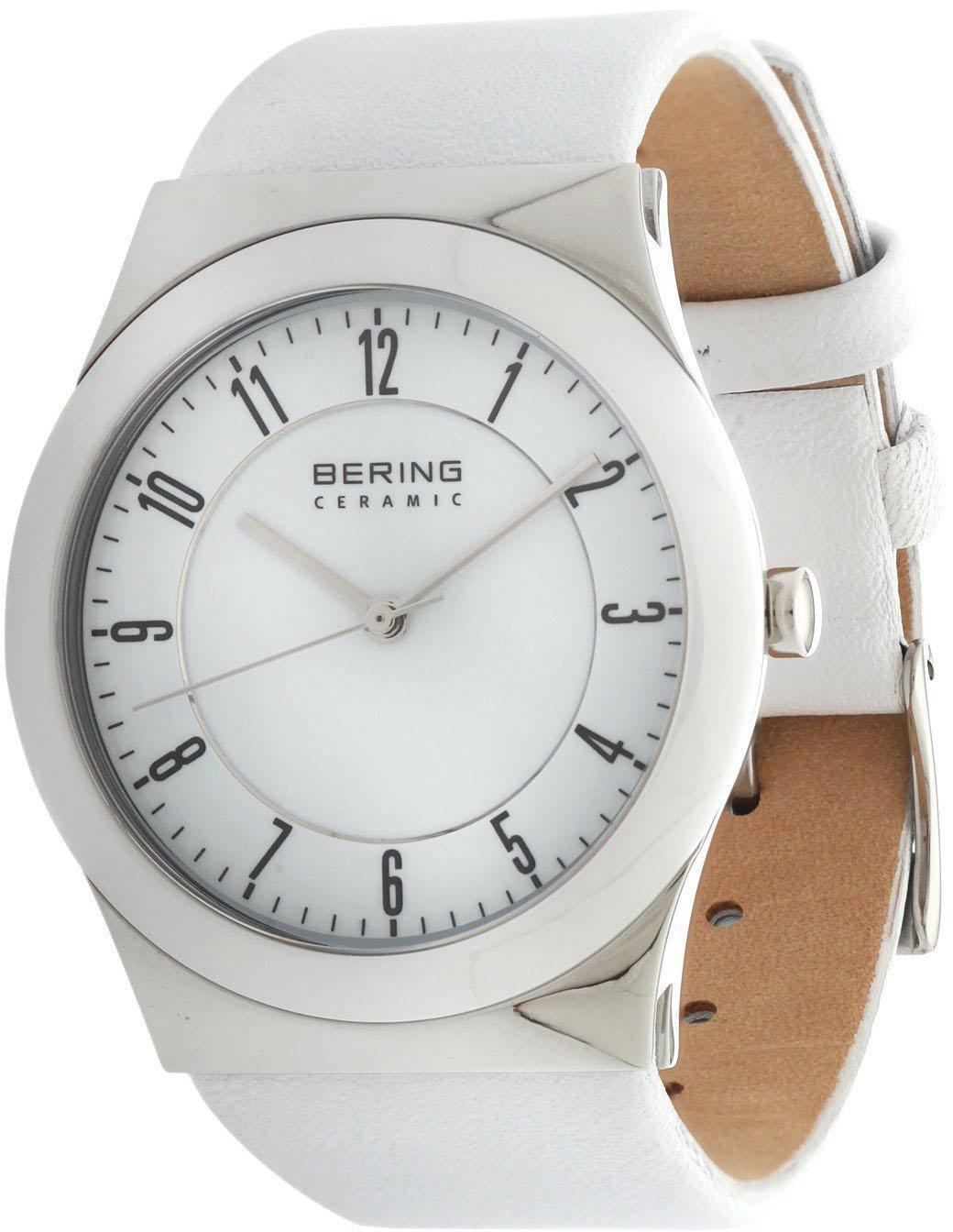 Bering Ceramic 32235-000Наручные часы<br>Датские часы Bering Ceramic 32235-000<br><br>Для кого?: Женские<br>Страна-производитель: Дания<br>Механизм: Кварцевый<br>Материал корпуса: Сталь<br>Материал ремня/браслета: Кожа<br>Водозащита, диапазон: 20 - 100 м<br>Стекло: Сапфировое<br>Толщина корпуса: None<br>Стиль: Классика