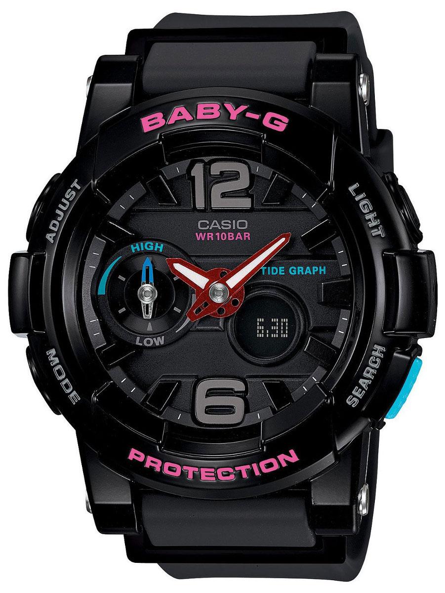 Купить Японские часы Casio Baby-G BGA-180-1B