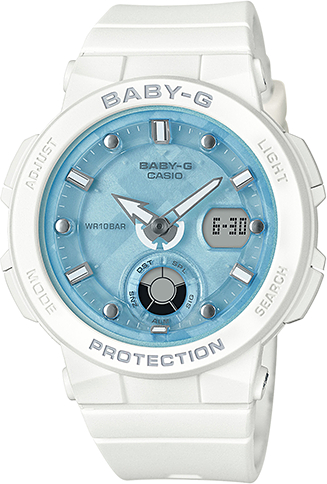 Купить Японские часы Casio Baby-G BGA-250-7A1