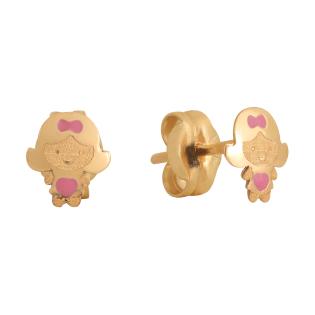 Серьги Crisolar Baby Jewelry BJ02EY