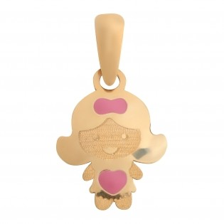 Подвеска Crisolar Baby Jewelry BJ04PY