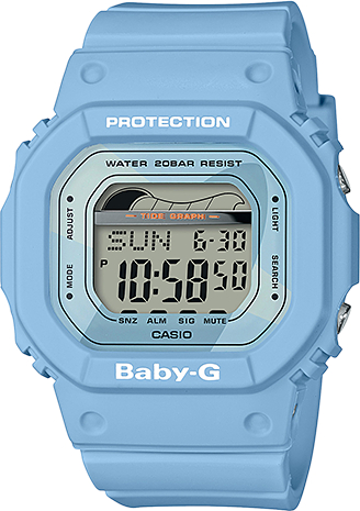 Купить Японские часы Casio Baby-G BLX-560-2E