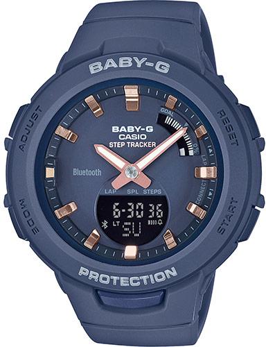 Купить Японские часы Casio Baby-G BSA-B100-2AER, Casio Baby-GBSA-B100-2AER