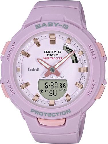 Купить Японские часы Casio Baby-G BSA-B100-4A2ER, Casio Baby-GBSA-B100-4A2ER