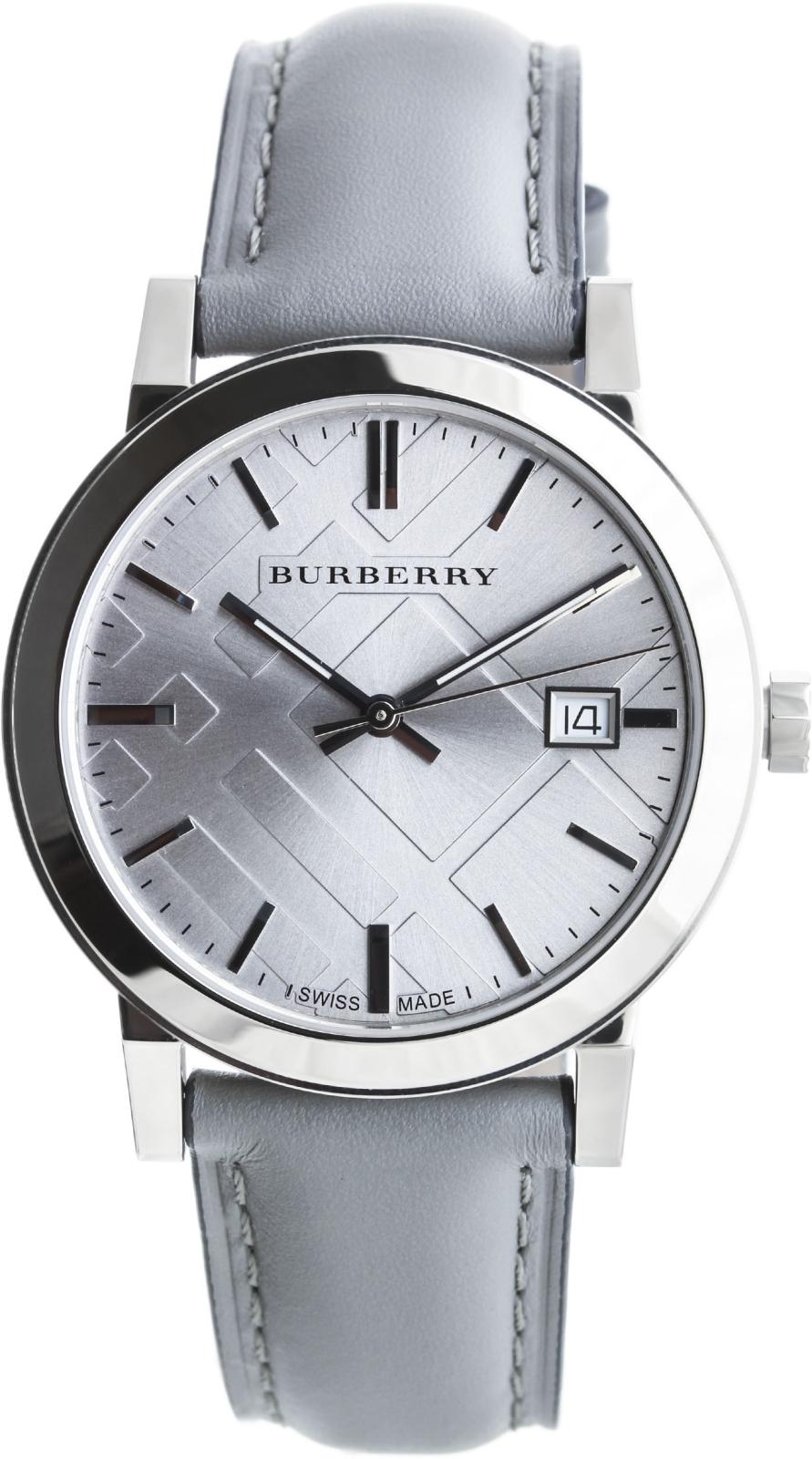 Burberry The City BU9036Наручные часы<br>Швейцарские часы Burberry The City BU9036<br><br>Пол: None<br>Страна-производитель: Швейцария<br>Механизм: Кварцевый<br>Материал корпуса: Сталь<br>Материал ремня/браслета: Кожа<br>Водозащита, диапазон: None<br>Стекло: Сапфировое<br>Толщина корпуса: 8,5 мм<br>Стиль: None