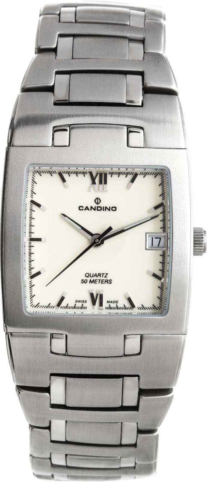 Candino Elegance C4154/2Наручные часы<br>Швейцарские часы Candino Elegance C4154/2<br><br>Пол: Мужские<br>Страна-производитель: Швейцария<br>Механизм: Кварцевый<br>Материал корпуса: Сталь<br>Материал ремня/браслета: Сталь<br>Водозащита, диапазон: 20 - 100 м<br>Стекло: Минеральное<br>Толщина корпуса: None<br>Стиль: Классика