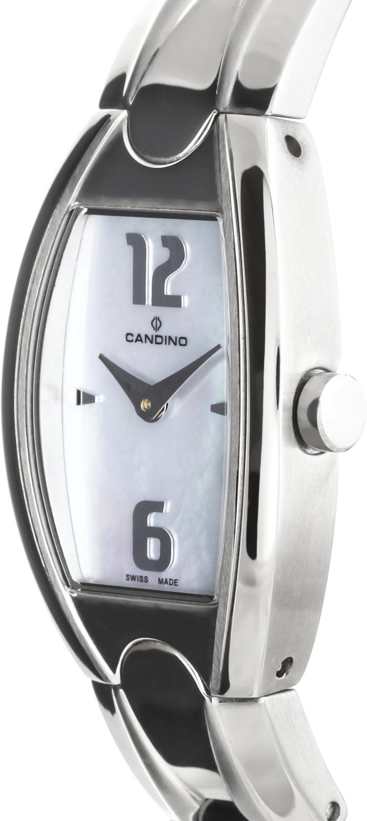 Candino D-Light C4287/3Наручные часы<br>Швейцарские часы Candino D-Light C4287/3Часы принадежат коллекции D-Light. Это модные женские часы. Материал корпуса часов — сталь. Циферблат часов защищает минеральное стекло. Водозащита этих часов 30 м.<br><br>Пол: Женские<br>Страна-производитель: Швейцария<br>Механизм: Кварцевый<br>Материал корпуса: Сталь<br>Материал ремня/браслета: Сталь<br>Водозащита, диапазон: 20 - 100 м<br>Стекло: Минеральное<br>Толщина корпуса: None<br>Стиль: None