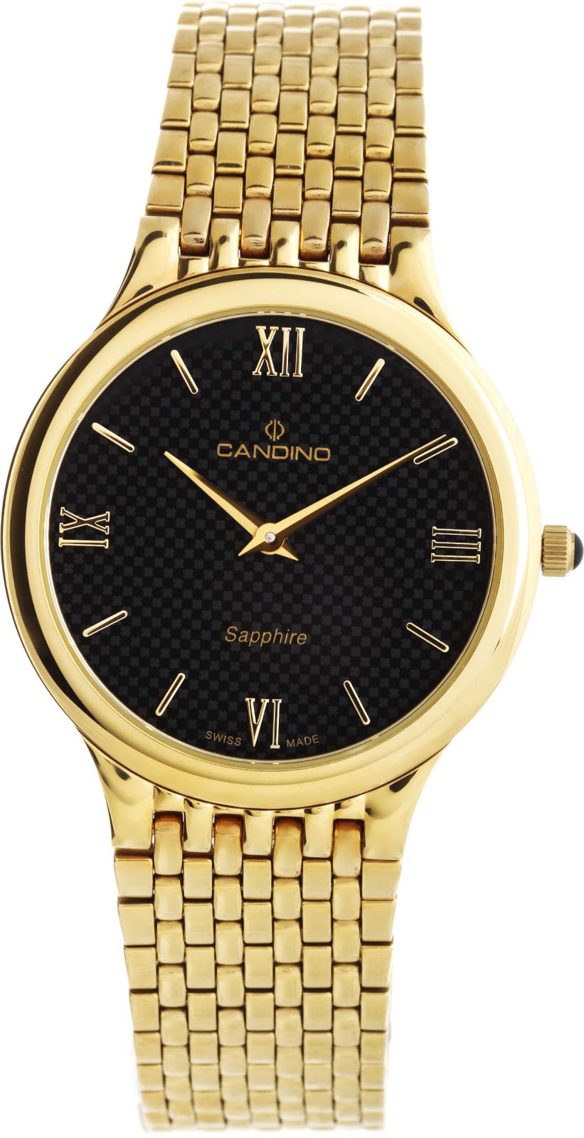 Candino Classic C4363/4Наручные часы<br>Швейцарские часы Candino Classic C4363/4<br><br>Для кого?: Мужские<br>Страна-производитель: Швейцария<br>Механизм: Кварцевый<br>Материал корпуса: Сталь<br>Материал ремня/браслета: Сталь<br>Водозащита, диапазон: 20 - 100 м<br>Стекло: Сапфировое<br>Толщина корпуса: 6 мм<br>Стиль: Классика