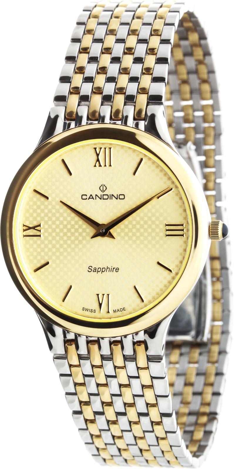 Candino Classic C4414/2Наручные часы<br>Швейцарские часы Candino Classic C4414/2<br><br>Пол: Мужские<br>Страна-производитель: Швейцария<br>Механизм: Кварцевый<br>Материал корпуса: Сталь<br>Материал ремня/браслета: Сталь<br>Водозащита, диапазон: 20 - 100 м<br>Стекло: Сапфировое<br>Толщина корпуса: None<br>Стиль: Классика