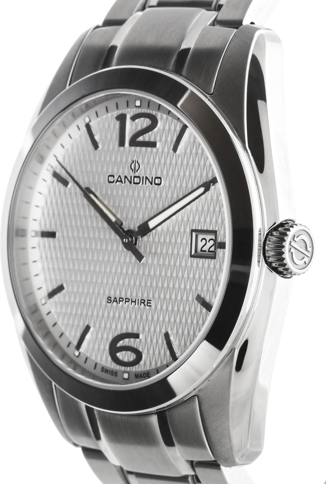 Candino Classic C4493/2Наручные часы<br>Швейцарские часы Candino Classic C4493/2<br><br>Пол: Мужские<br>Страна-производитель: Швейцария<br>Механизм: Кварцевый<br>Материал корпуса: Сталь<br>Материал ремня/браслета: Сталь<br>Водозащита, диапазон: 20 - 100 м<br>Стекло: Сапфировое<br>Толщина корпуса: None<br>Стиль: Классика