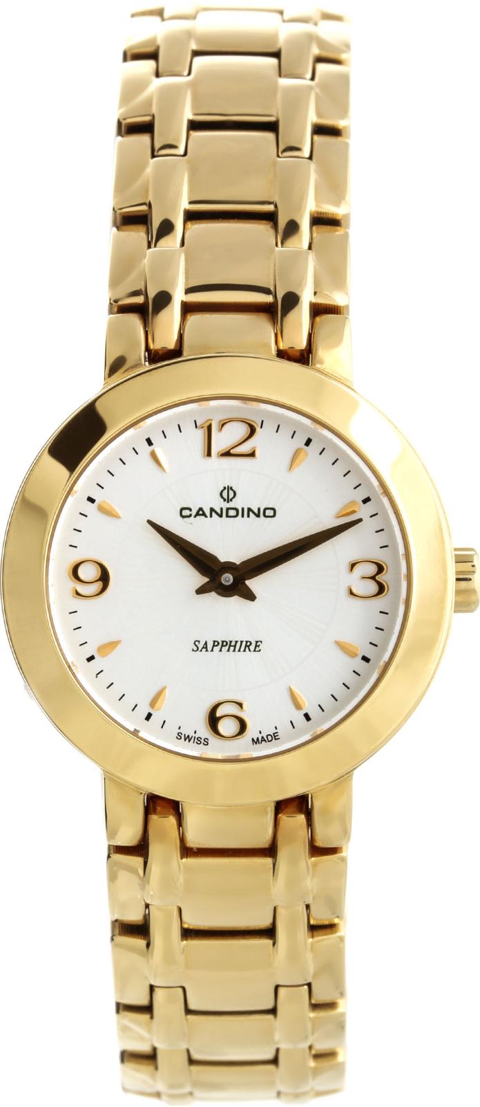 Candino Elegance C4501/1Наручные часы<br>Швейцарские часы Candino Elegance C4501/1Часы входят в модельный ряд коллекции Elegance. Это великолепные женские часы. Материал корпуса часов — сталь+золото. Циферблат часов защищает сапфировое стекло. Водозащита этой модели 50 м. Основной цвет циферблата белый. Циферблат часов содержит часы, минуты. Часы обладают корпусом 26мм.<br><br>Пол: Женские<br>Страна-производитель: Швейцария<br>Механизм: Кварцевый<br>Материал корпуса: Сталь<br>Материал ремня/браслета: Сталь<br>Водозащита, диапазон: 20 - 100 м<br>Стекло: Сапфировое<br>Толщина корпуса: None<br>Стиль: Классика