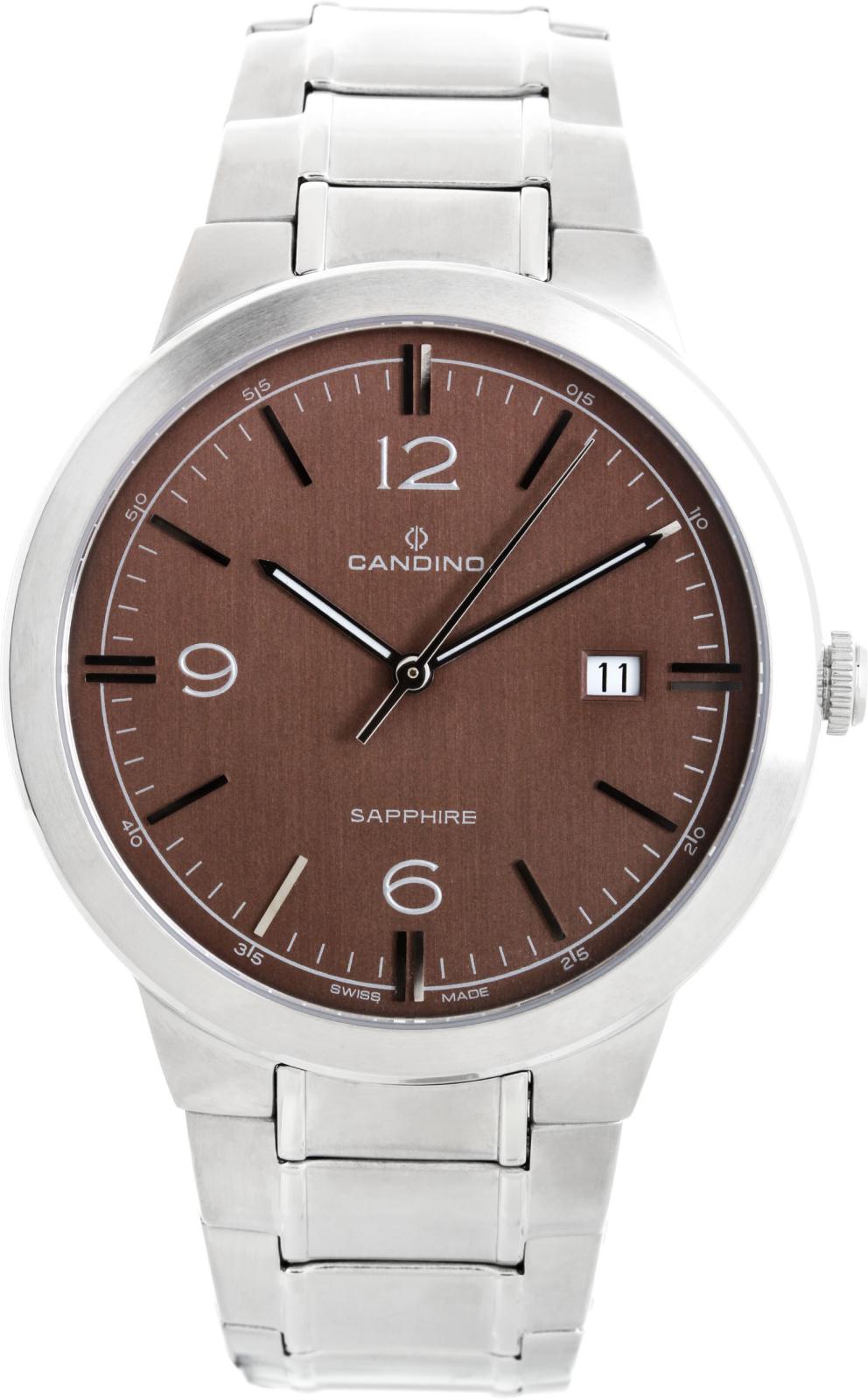 Candino Elegance C4510/3Наручные часы<br>Швейцарские часы Candino Elegance C4510/3<br><br>Пол: Мужские<br>Страна-производитель: Швейцария<br>Механизм: Кварцевый<br>Материал корпуса: Сталь<br>Материал ремня/браслета: Сталь<br>Водозащита, диапазон: 20 - 100 м<br>Стекло: Сапфировое<br>Толщина корпуса: None<br>Стиль: Классика