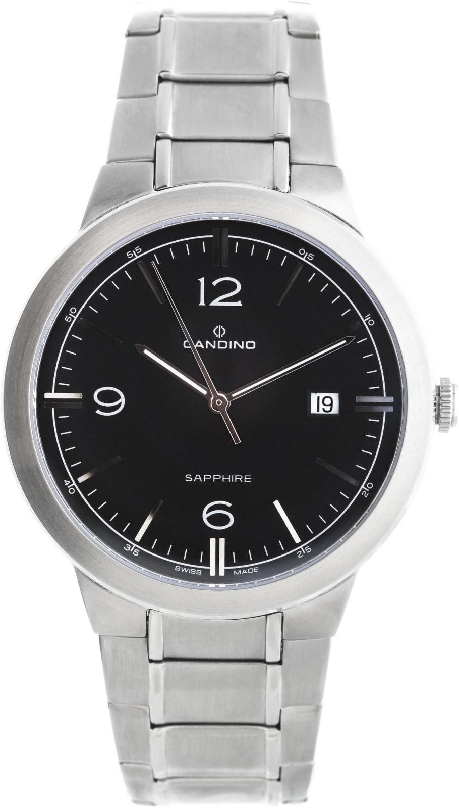Candino Elegance C4510/4Наручные часы<br>Швейцарские часы Candino Elegance C4510/4<br><br>Пол: Мужские<br>Страна-производитель: Швейцария<br>Механизм: Кварцевый<br>Материал корпуса: Сталь<br>Материал ремня/браслета: Сталь<br>Водозащита, диапазон: 20 - 100 м<br>Стекло: Сапфировое<br>Толщина корпуса: None<br>Стиль: Классика